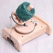 Ashford e Ball Winder with yarn