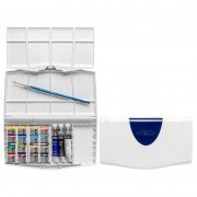 Cotman Watercolour set 16 half pans