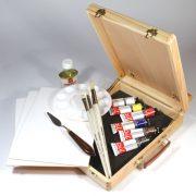 Graduate Oil Box Easel Set