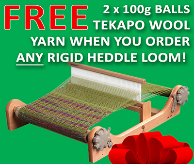 FREE yarn with looms